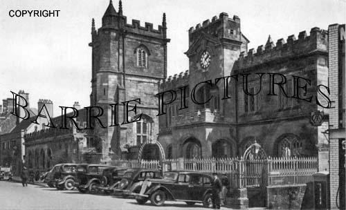 Shaftesbury, Town Hall c1940