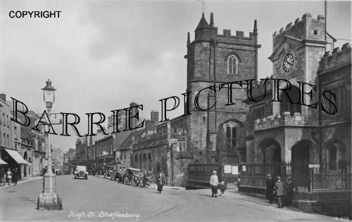 Shaftesbury, High Street c1930