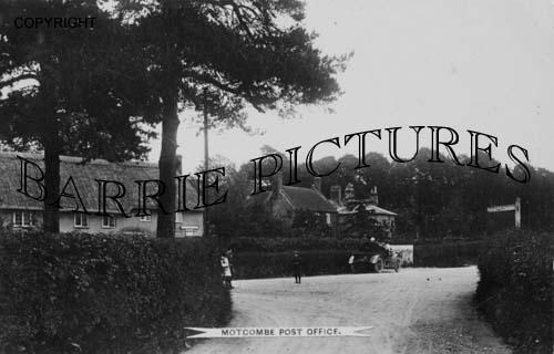 Motcombe, Post Office c1900