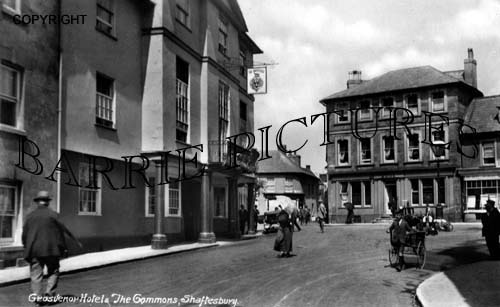 Shaftesbury, Grosvenor Hotel c1931