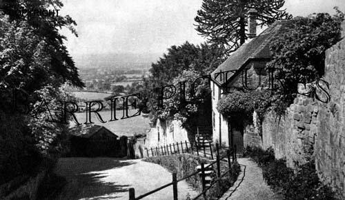 Shaftesbury, Tout Hill c1940