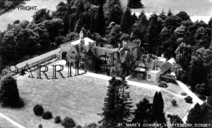 Shaftesbury, St Mary's Convent c1960