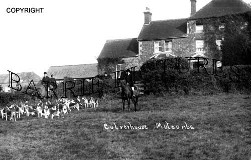 Motcombe, Calverhouse c1930