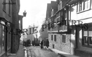 Sherborne, Cheap Street c1910