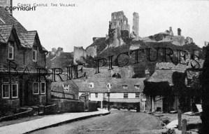Corfe Castle, the Village c1910