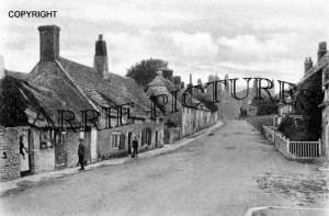 Corfe Castle, the Village c1900