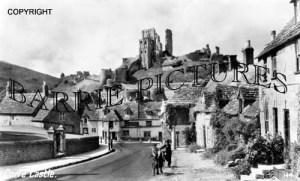 Corfe Castle, the Village c1950