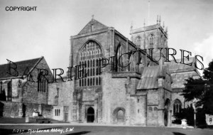 Sherborne, Abbey c1954