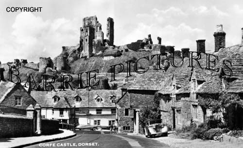 Corfe Castle, c1960