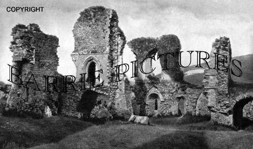 Corfe Castle, Queen's Tower c1920
