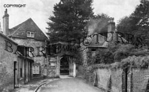 Salisbury, Harnham Gate c1935