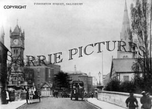 Salisbury, Fisherton Street c1900