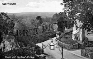 The Donheads, Donhead St Mary Church Hill c1910