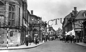 Sherborne, Cheap Street and Conduit c1955