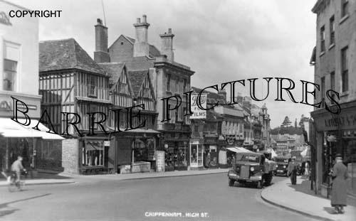 Chippenham, High Street c1945