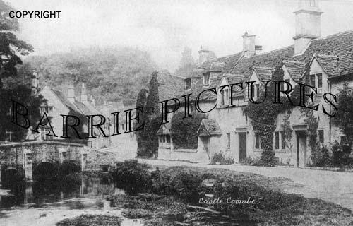 Castle Combe, Village c1900