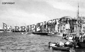 Weymouth, Harbour c1955