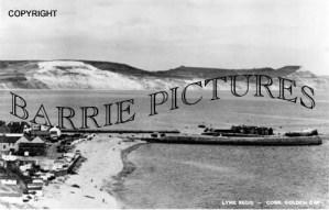 Lyme Regis, The Cobb c1920