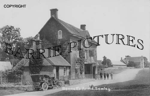 Semley, Bennetts Arms c1915