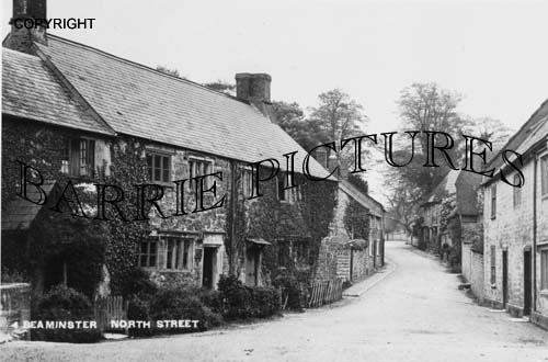 Beaminster, North Street c1910