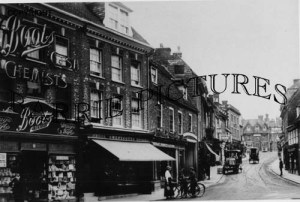 Blandford, Salisbury Street c1910