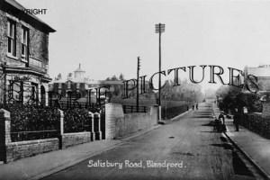 Blandford, Salisbury Road c1900