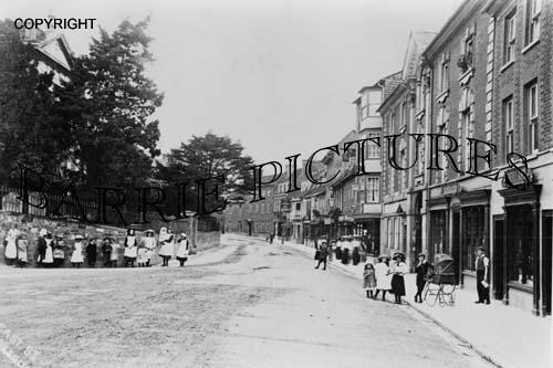 Blandford, East Street c1890