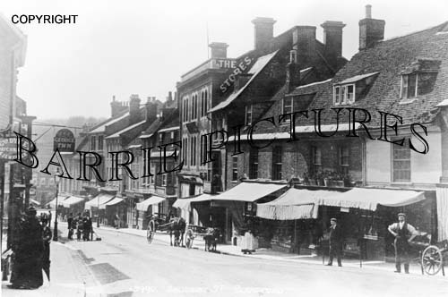 Blandford, Salisbury Street c1900