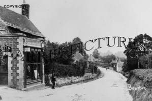Bourton, Post Office c1910