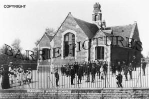 Buckhorn Weston, School c1900