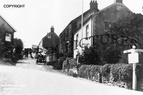 Charmouth, Old Roman Road c1920