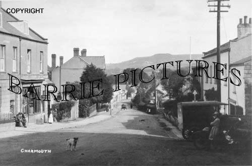 Charmouth, Village c1920