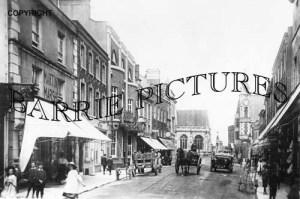 Dorchester, High Street c1920
