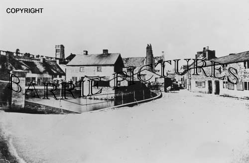 Dorchester, Mill Street c1870