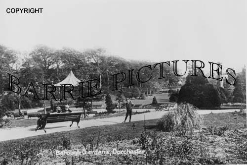 Dorchester, Borough Gardens c1900