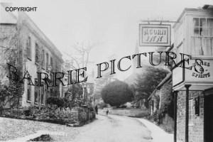 Evershot, The Acorn Inn c1910