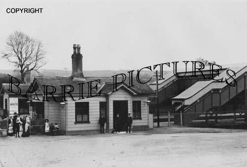 Evershot, Station c1910
