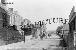 Gillingham, Station Road c1900