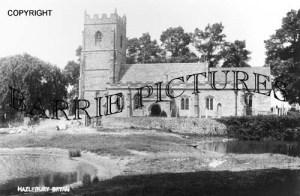 Hazelbury Bryan, The Church c1910