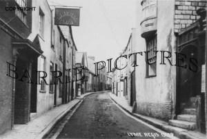 Lyme Regis, Liberal Club c1900