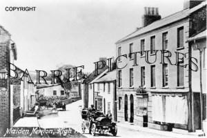Maiden Newton, HighWest Street c1920