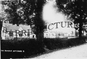 Motcombe, The School c1900