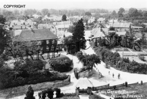 Okeford Fitzpaine, Lych Gate and Rectory c1925