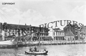 Poole, The Ferry c1890