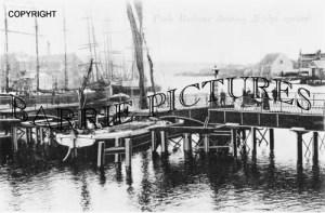 Poole, Harbour Bridge c1890