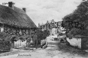 Puncknoll, Village c1900