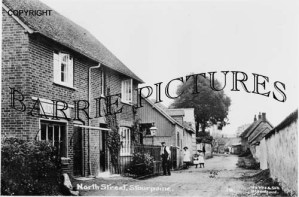 Stourpaine, North Street c1910