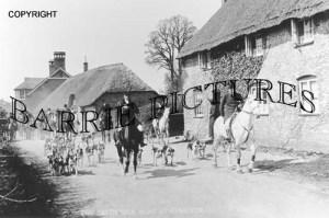Stratton, The Cattistock Hunt c1920