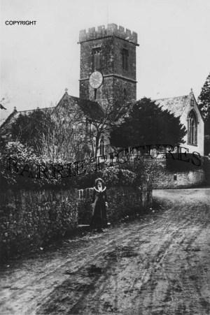 Symondsbury, Church c1900