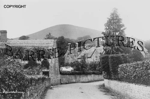 Symondsbury, Village c1900